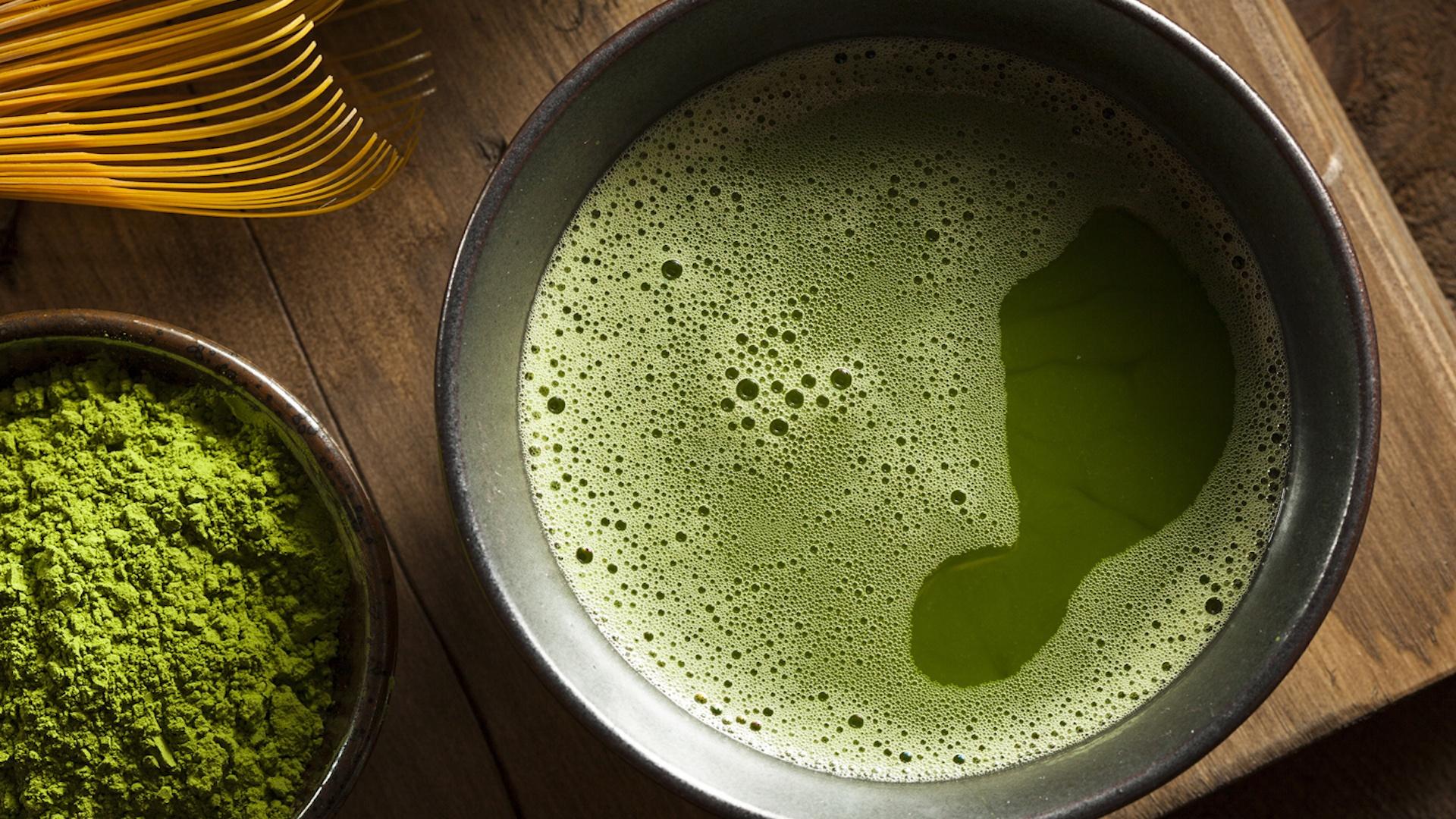 2. kép - a zöld tea az egyik legközkedveltebb a köhögés elleni teák között