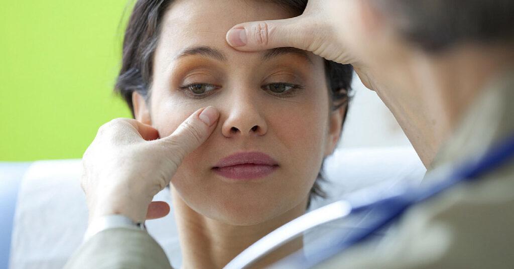 orrsövényferdülés tünetei
